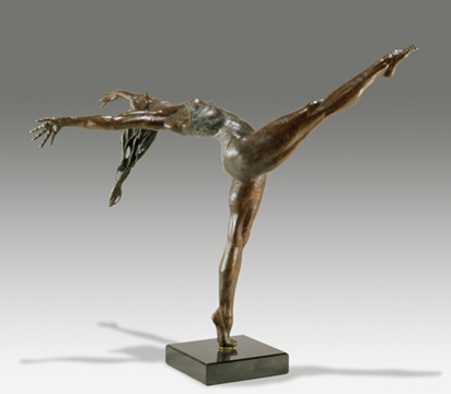Ballerina - Bronze sculpture by Barry Johnston