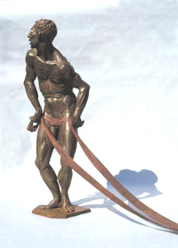 - Bureaucrat - Bronze sculpture by Barry Johnston
