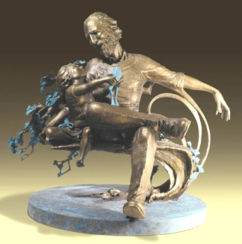 - Future Prince - Bronze sculpture by Barry Johnston