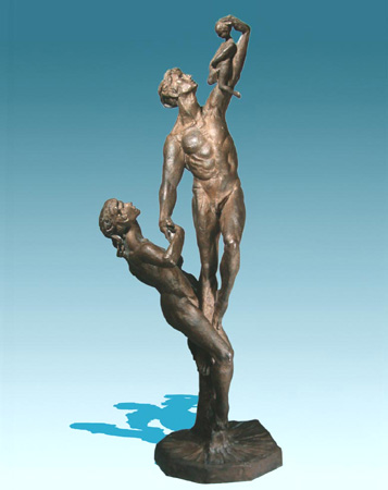 Heritage - Bronze sculpture by Barry Johnston
