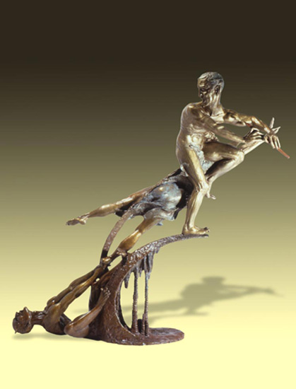 - Orpheus and the Underworld - Bronze Sculpture by Barry Johnston