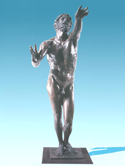 Prodigal Son - Bronze sculpture by Barry Johnston